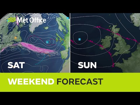 Weekend weather – Warm with heavy showers and thunder 01/07/21