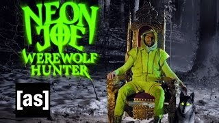 Neon Joe, Werewolf Hunter NYCC Trailer | Neon Joe | Adult Swim