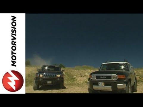 Hummer H3 vs. Toyota FJ Cruiser