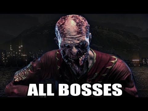 Dying Light: The Following Enhanced Edition - All Bosses (With Cutscenes) HD