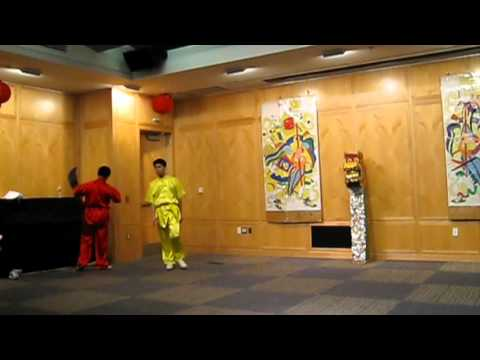 2012/03 Wushu Performance in Princeton Public Library