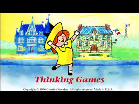 Madeline Thinking Games (1996) - Playable Demo