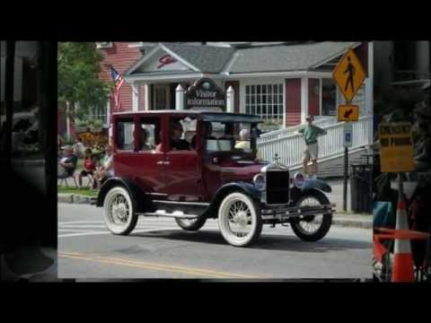 Antique Car Show Stowe Vt