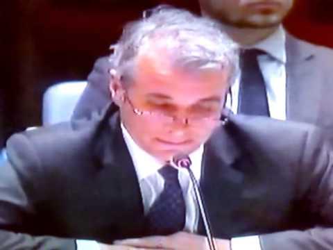 Экстренное заседание Совбеза ООН по Украине Чуркин Виталий   (Meeting of Совбеза the UNO on Ukraine)