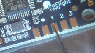 Fix Damaged Solder Pad on Naze32 or other Flight Contoller