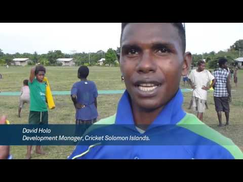 Cricket4Kids documentary at Solomon Islands