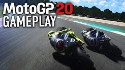 MotoGP 20 Gameplay PC - Valentino Rossi at Assen (MotoGP 2020 Game)