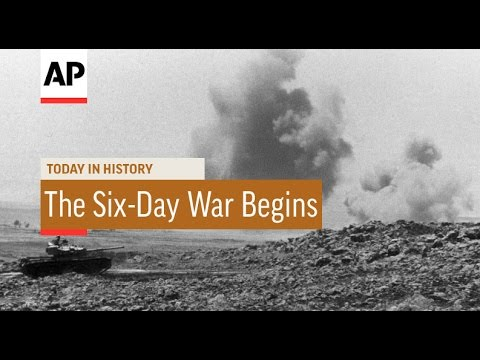 The Six-Day War Begins - 1967 | Today in History | 5 June 16