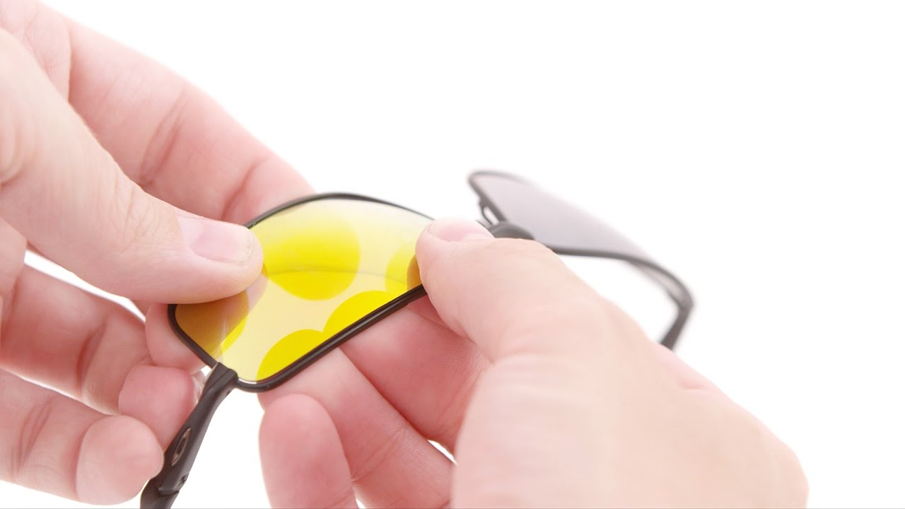 How to Replace Lenses in Wire Frame Sunglasses - YouTube