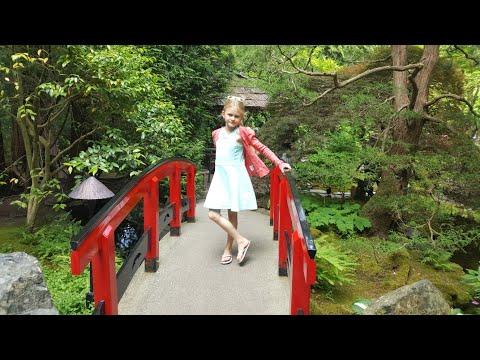 Сады Бутчарт Гарденс (Butchart Gardens) - Brentwood Bay, British Columbia, Canada