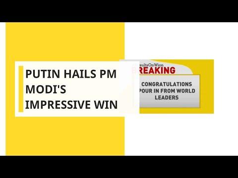 Lok Sabha Election 2019: Vladimir Putin, Shinzo Abe and world leaders congratulate PM Modi