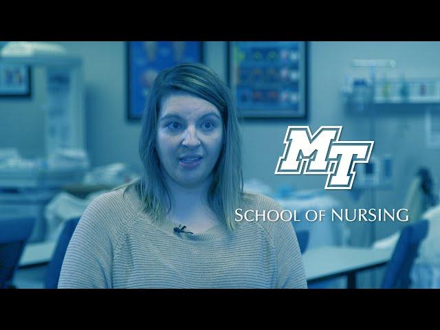 """Just Breathe, It'll Be Fine"" | MTSU School of Nursing"