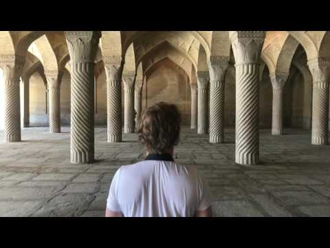 WALKING THROUGH IRAN