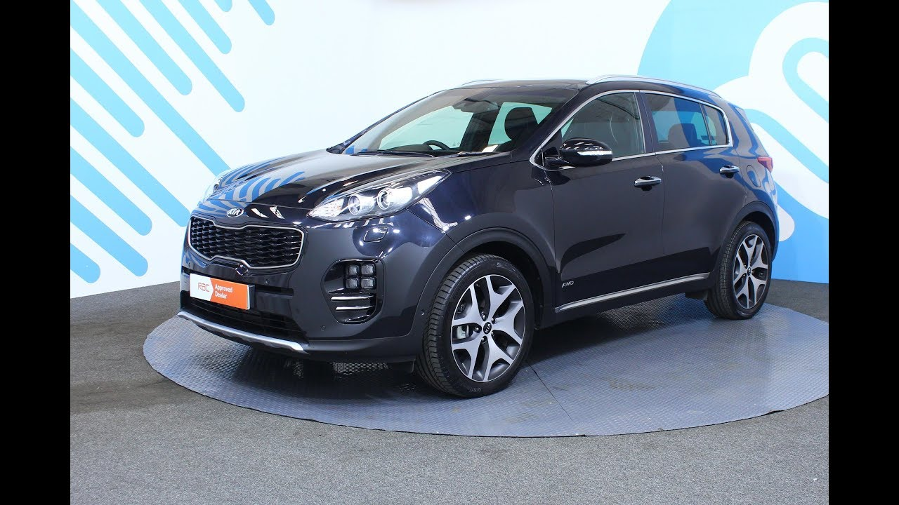 kia sportage 1 6 t gdi gt line s dct awd 5dr youtube. Black Bedroom Furniture Sets. Home Design Ideas