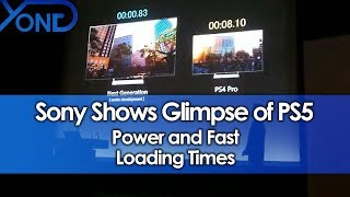 Sony Shows Glimpse of PS5 Power & Fast Loading Times
