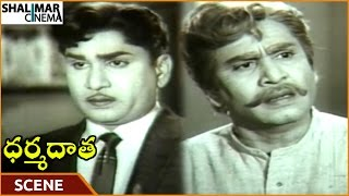 Dharma Daata Movie || ANR Angry On His Son For Buying Suit || ANR, Kanchana || Shalimarcinema