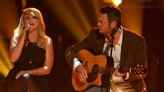 "BLAKE SHELTON & MIRANDA LAMBERT ""OVER YOU"" TRIBUTE & JOSIAH HAWLEY ELIMINATED ""THE VOICE"""