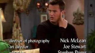 Friends- Chandler sings I will survive