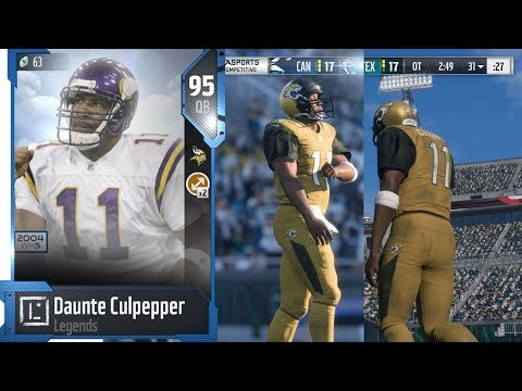 Daunte Culpepper Gets The Team Into Overtime | Madden 18 Ultimate Team