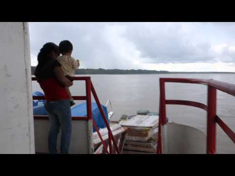 Peru to Ecuador Boat Walkthrough Napo River