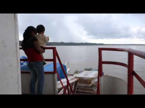 Peru to Ecuador Boat Walkthrough Napo River
