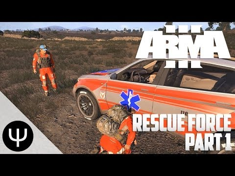 ARMA 3: Altis Life — Rescue Force — Part 1 — Medical Drugs!