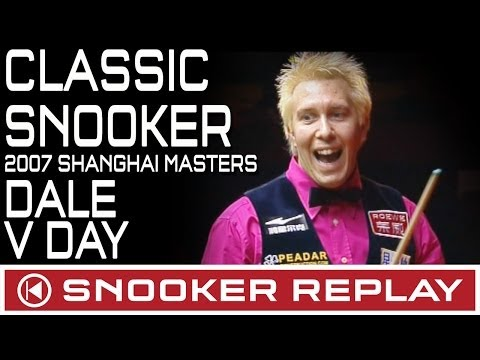 CLASSIC SNOOKER MATCH!! Dominic Dale v Ryan Day Shanghai Masters 2007