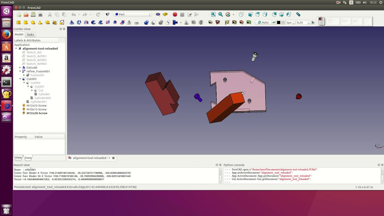 FreeCAD alignment tool reloaded