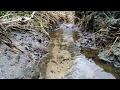 The making of a stream | permaculture water management