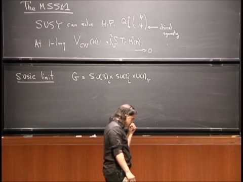 SUSY and Particle Physics, Part 2 - Nima Arkani-Hamed