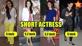 10 bollywood actresses who are short in real life