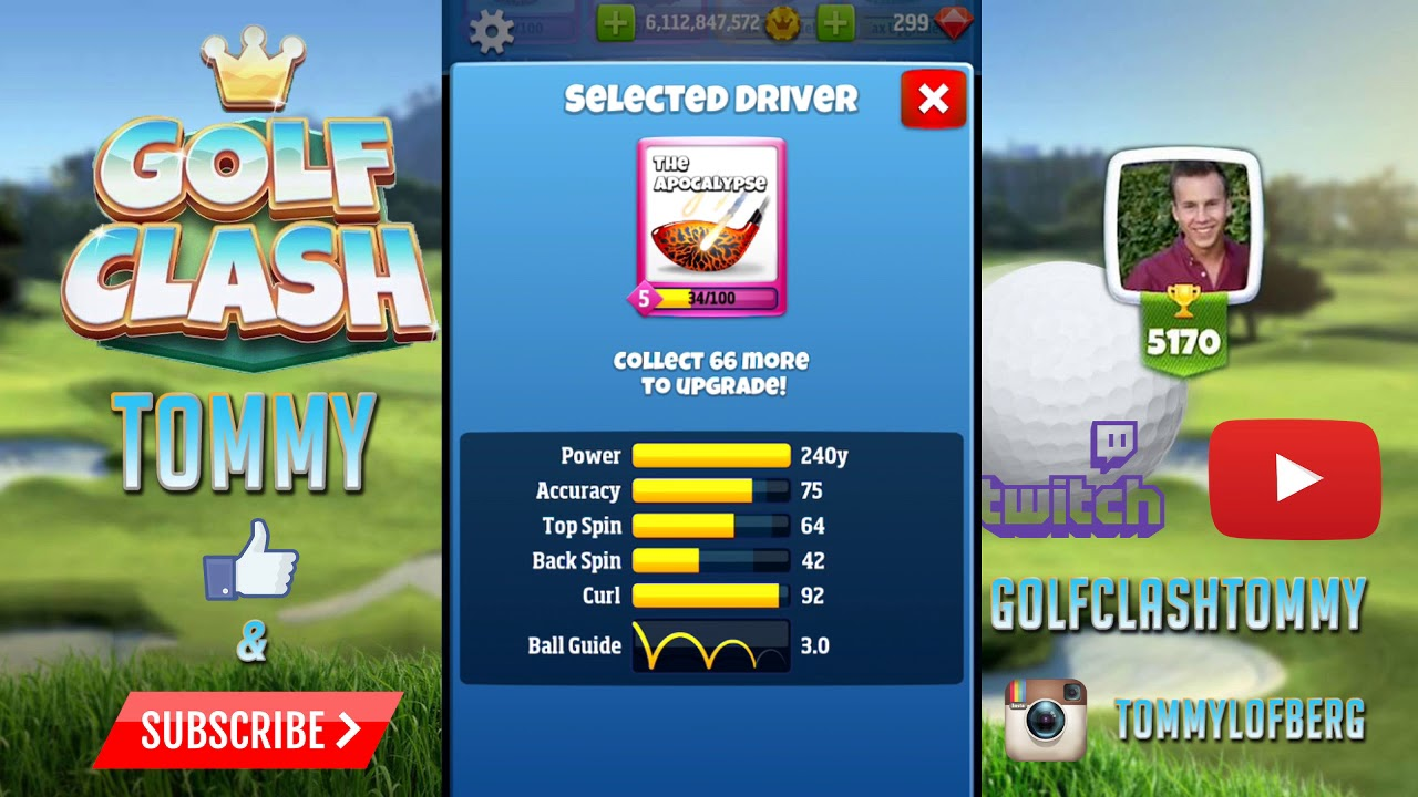 Golf Clash Tips Drivers Pros And Cons Guide Tutorial Youtube