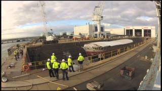 Alma Doepel - Barge Float Timelapse - Short