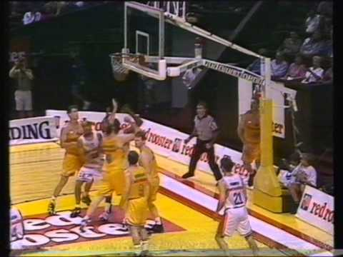 1995 Australian Boomers vs Magic Johnson's All Stars - Perth