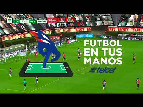 Chivas 3 - [1] Atlas - Ignacio Jeraldino 87'