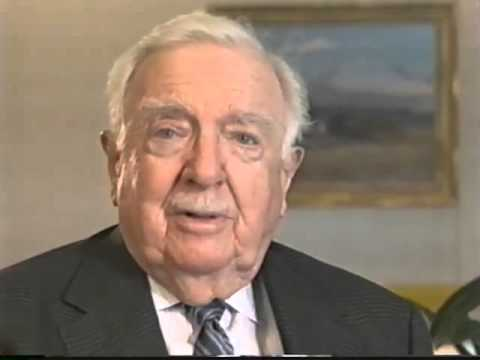 Walter Cronkite Recollections, 11/27/02. Tape 1 of 1.