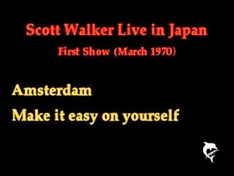 Scott Walker Live in Japan 1970 (First Show - Part 1)