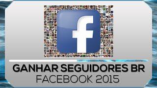 Como ganhar seguidores no facebook 2016