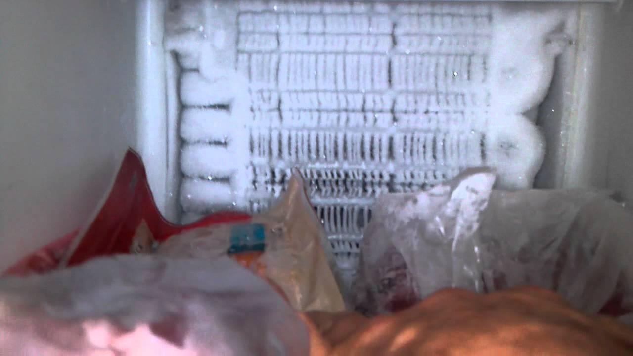 Frozen Freezer Coils Youtube