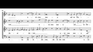 Palestrina: Sicut cervus, Sitivit anima mea - score