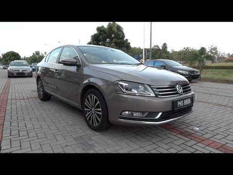 2011 Volkswagen Passat 1.8 TSI Start-Up and Full Vehicle Tour