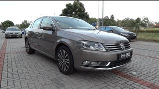 2011 Volkswagen Passat 1.8 TSI Start-Up and Full Vehicle Tour
