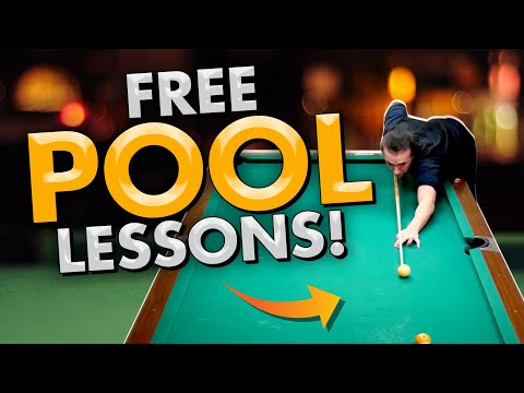 FREE POOL LESSONS! - Pool's Biggest Secrets Revealed 3 - Con