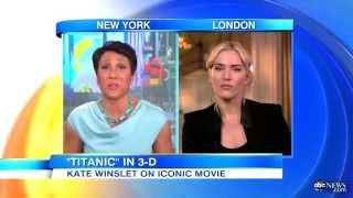 Kate Winslet on 'Titanic' Re-Release
