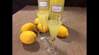 Homemade Limoncello Liqueur Recipe - Great Italian Liqueur! - Episode #297