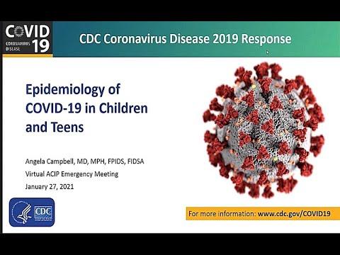 January 27, 2021 ACIP Meeting - COVID-19 Epidemology