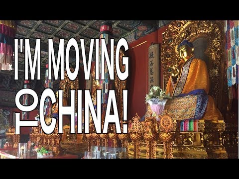 I'm Moving to China!