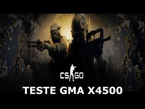 TESTE DESEMPENHO CS:GO G41 GMA X4500 PC FRACO SEM PLACA DE VIDEO 2020