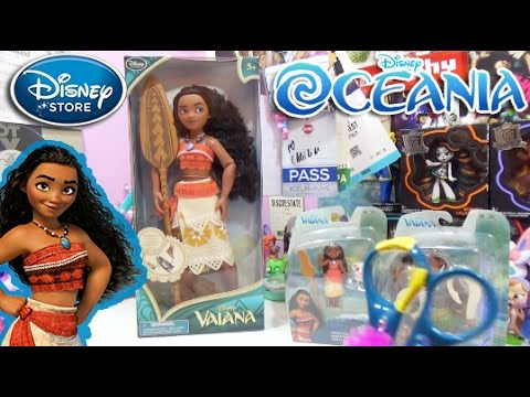 vaiana oceania disney store classic doll l 39 oceano chiama youtube. Black Bedroom Furniture Sets. Home Design Ideas
