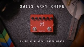 Reuss Musical Instruments Swiss Army Knife (demo)